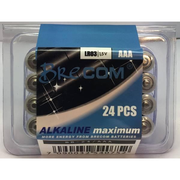 Bilde av BB-24/AAA- -Batteripakke 24stk. AAA-LR03.
